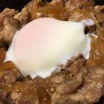 さと舎 - ご飯は白米を選びました♬︎ 豚丼の具もタップリ♡