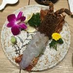 北海道×肉魚バル 北の酒場 四日市店 - 伊勢海老の刺身