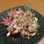 地鶏と個室居酒屋 よし河 -  揚げたこ焼き税抜490円