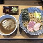 長男、もんたいちお - 「つけ麺」850円