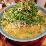 旭屋 - 料理写真:味噌らーめん野菜ネギ多目700円