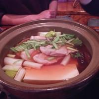 魚虎千両-本鮪大トロと下仁田葱のネギマ鍋1,480円×2人前