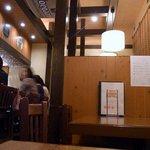 ビアカフェ・バーレイ - 店内は、木をふんだんに使っていて落ち着いた感じになっています。 とっても居心地の良いお店です。