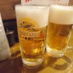 まかない屋 - 生ビール