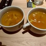 焼肉プリンス&喫茶 - スープ2つ
