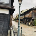 甘納豆かわむら - 昔ながらの和風なお店が並ぶ野町界隈。。。