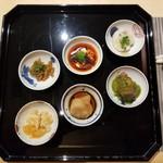 Chuugokusaishinka - 前菜6種盛り