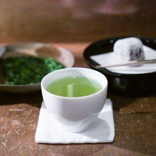 万 - ドリンク写真:八女本手摘み茶