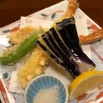 日本料理 やまと - 蟹の天ぷら