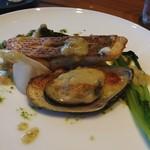ワイン アンド フレンチ スタイル アペロ - 料理写真:鮮魚のポワレ