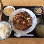 さんちゃん - 料理写真:マーボーとうふ定食