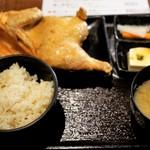 なるとキッチン - 半身揚げ定食 1,000円