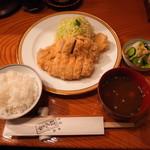 97689499 - カツレツ定食
