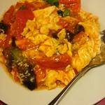 上海味わい - 玉子とトマトの炒め物