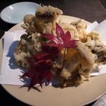 97694307 - 茸の天ぷら