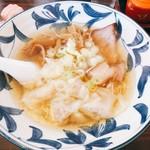 自慢亭 - 料理写真:ワンタンメン