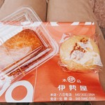 伊勢屋 - いなり 80円   味噌まんじゅう 100円