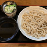 福助 - 料理写真:ざるうどん 中 みぞれ汁(650円+50円) 2018.12
