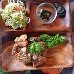 びすとろトーイトコ - イノシシ肉の一口カツレツランチ(ロース)