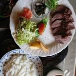 びすとろトーイトコ - 鹿肉のローストランチ(ライス)