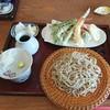 蕎麦屋 藤田 - 料理写真:海老と野菜の天ざる
