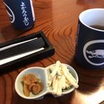 与香朗寿司 - 最初の小鉢