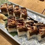 つぬけ - 穴子 棒寿司2