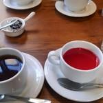 cafe&BistroKitchen Belle anse - 食後のデザートとホットティー