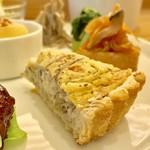 たなこころ - ランチプレート(¥1,080) 重ね煮野菜のキッシュ