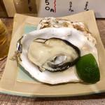 海鮮立呑 牡蠣スタンド - 酢橘で頂きまひょ