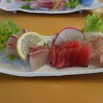 松輪 - 魚刺身盛り地