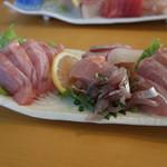 松輪 - 金目鯛刺身