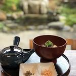 okometsukasafumiya - お庭と焼きおにぎりのぶぶ漬け