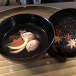 京料理 かじ - うずらの吸い物