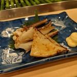 お魚亭 - イカゲソ焼き