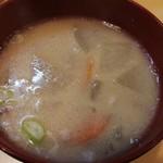 とんかつ燕楽 - 豚汁