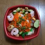蒼海丼丸 - 料理写真:バラ丼