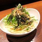 とり料理と旨い酒 GOTEN - 大根サラダ