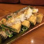 牛たん 荒  - 栃尾の油揚げ(600円)