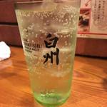 牛たん 荒  - ジンジャーハイボール(580円). (外税)