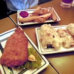 焼鳥 日高 - フライ、天ぷら、素揚げ、すべて揚げ物