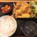 平塚タッカンマリ - チーズタッカルビ定食