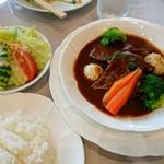 太平洋クラブ 佐野ヒルクレストコース レストラン - 牛タンシチュー