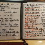 太郎の台所 - メニュー