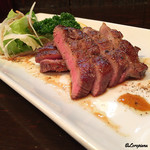牛たんや - 信州牛の牛たんステーキ