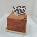 アンファミーユ - チョコのケーキ(すいません、名前忘れました)