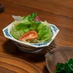 旅舎右馬允 - 2018.11 野菜サラダ