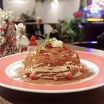 ウイラニ - 料理写真:マスカルポーネチーズのティラミスパンケーキ
