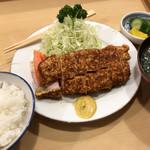 とんき - とんき駒込店(ロースかつ定食)