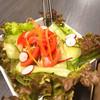 馬の手 - 料理写真:野菜サラダ